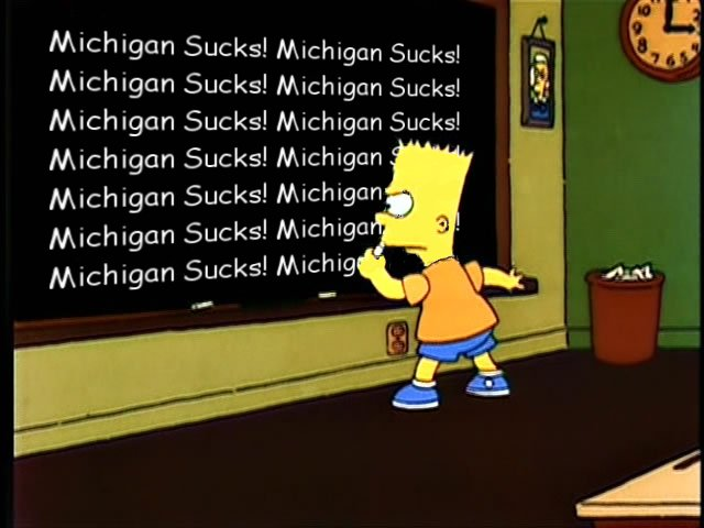 We Should Not Play Michigan