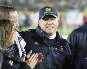 Brian Kelly and Year Three