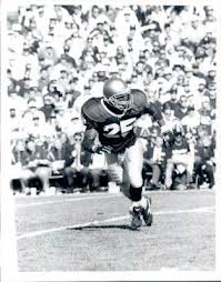Notre Dame running back, Randy Kinder