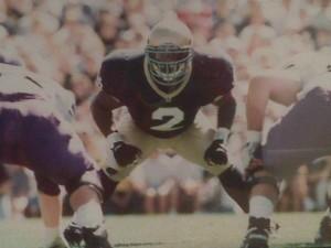 Kinnon Tatum, Notre Dame-Northwestern game 1995