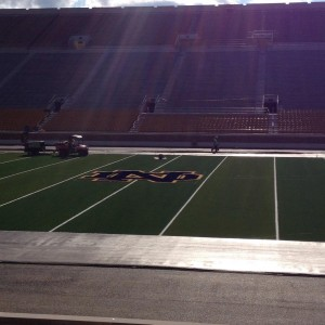 First Look at the Notre Dame Midfield Logo
