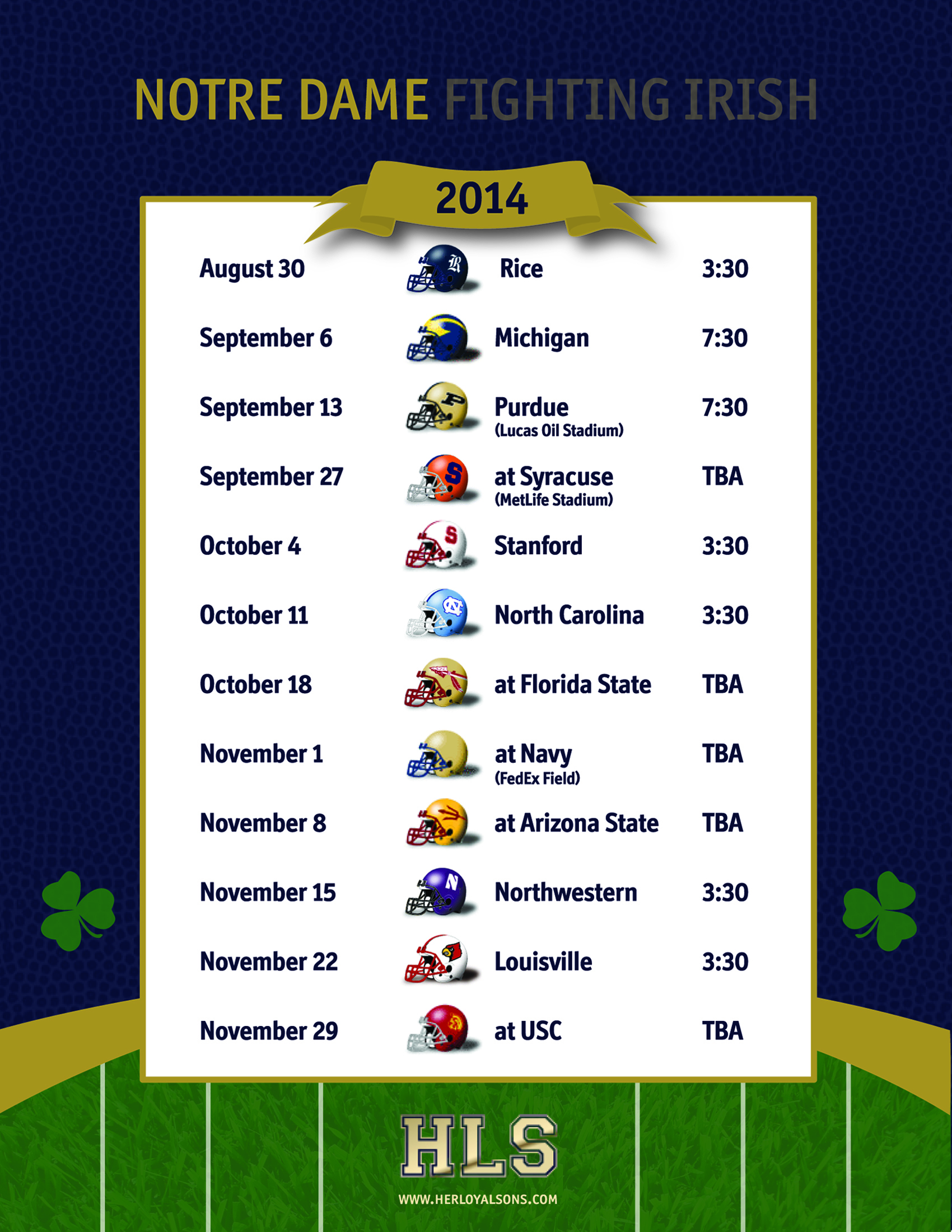 Notre Dame Football Schedule 2020 Printable.St Martin Of Tours Mass Schedule Notre Dame Football