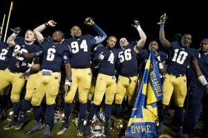 Win or lose, this will be the scene at Notre Dame Stadium (via 125.nd.edu)