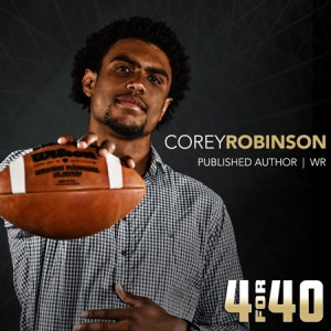 Corey Robinson Considered Quitting ND Football, And Other Teammates' Thoughts