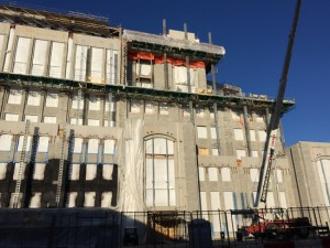 Notre Dame Stadium Construction