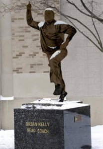There Will Be No Brian Kelly Statue
