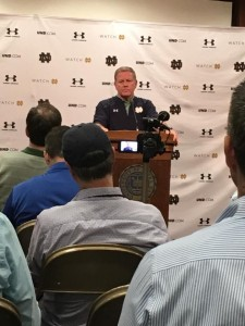 Notre Dame's Media Rules: A Ghost of Coaching Past