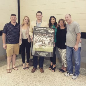 Kyle Brindza Inducted Into Plymouth HS Hall of Fame