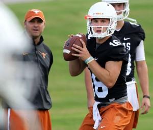 Freshman quarterback Shane Buechele (Stephen Spillman / Houston Chronicle)