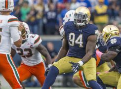 Week Four of Notre Dame Defense with Hudson