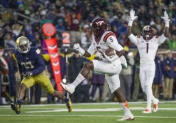 Notre Dame Defense Outmatched by Virginia Tech