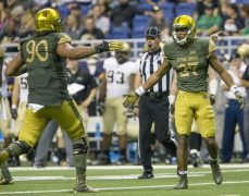 The Notre Dame Defense Meets Army's Option